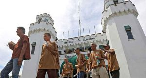 Former inmates in Bilibid