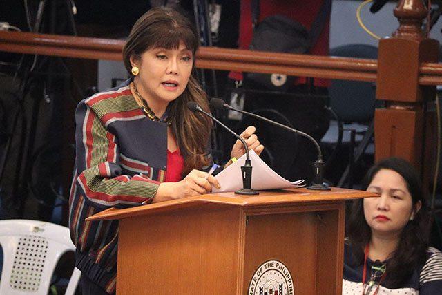 Imee Marcos in Senate