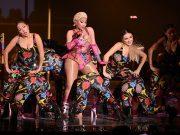 Singer Nicki Minaj performs at the 2018 MTV Europe Music Awards at Bilbao Exhibition Centre in Bilbao