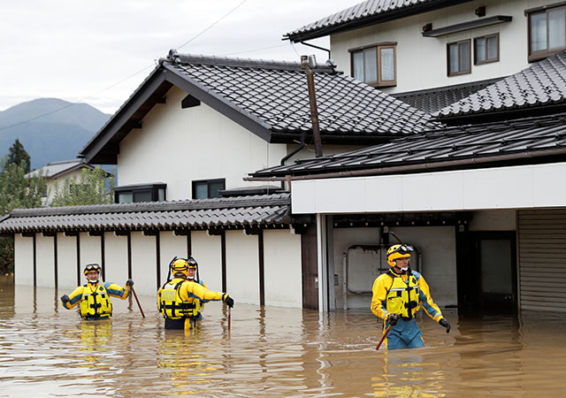 Japan sends in troops after deadly typhoon floods towns, threatens more damage - InterAksyon