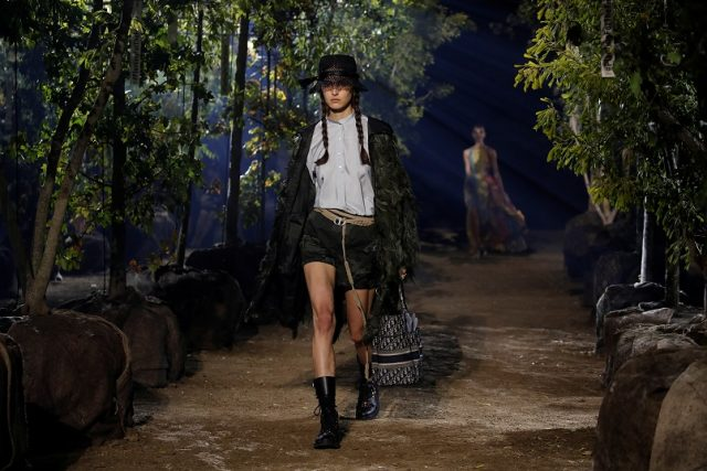 Dior Spring/Summer 2020 women's ready-to-wear collection show at Paris Fashion Week