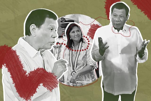 Duterte and Leni 'trap'