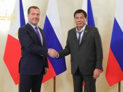 Duterte with Russian PM