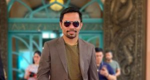 Manny Pacquiao in shades