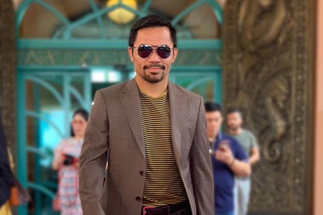 'Ang daming time': Besides 'Malvar,' there's another movie for multi-hyphenated Manny Pacquiao