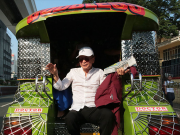 Sal Panelo commuting