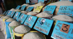 Unsold rice