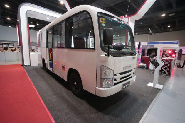 Modern jeepney - Isuzu