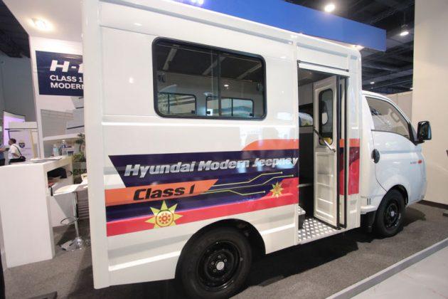Modern jeepney - Hyundai