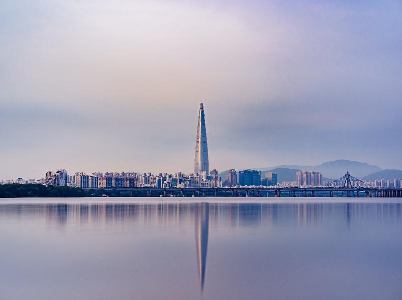 Seoul cityscape daytime