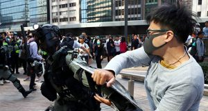 Hong Kong protester
