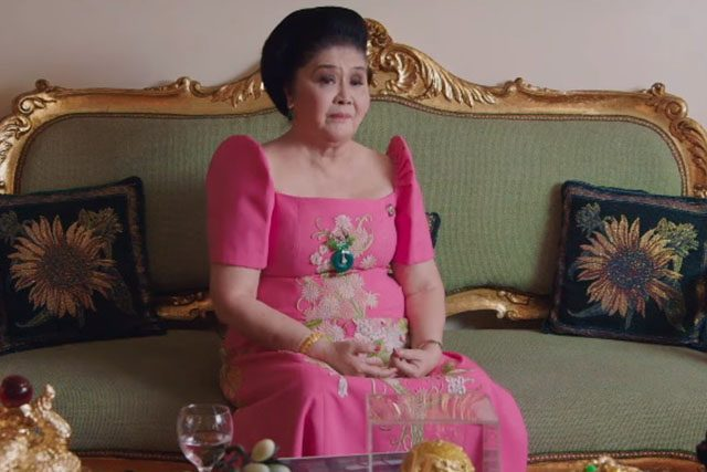 Imelda Marcos in The Kingmaker