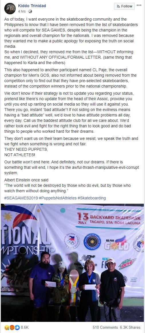 Kiddo Trinidad Facebook