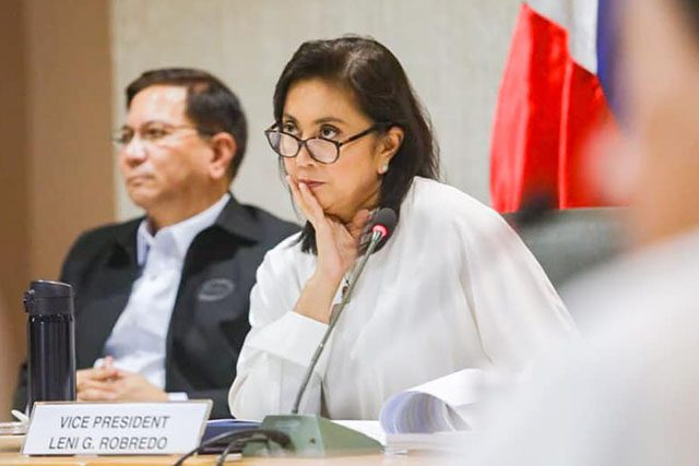 Leni Robredo as ICAD co-chair