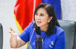 Leni Robredo in ICAD meeting