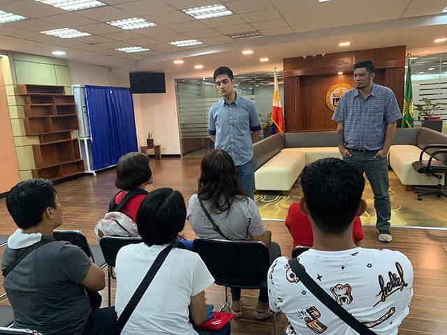 Pasic City Mayor Vico Sotto with Defense Job Ph
