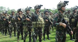 Philippine Army soldiers