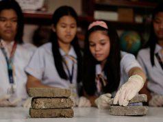 Students and bio bricks