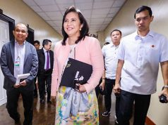 VP Leni Robredo in budget hearing