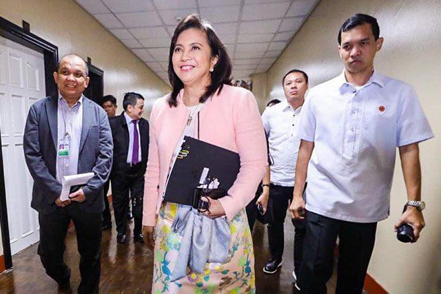 VP Leni Robredo in budget hearing