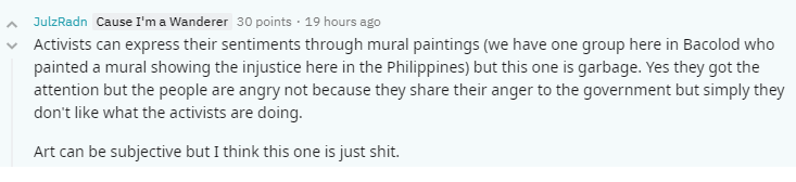 comment 2 vs lagusnilad vandalism