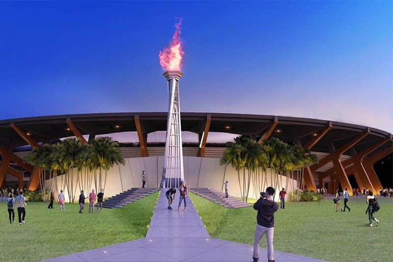 2019 SEA Games Cauldron design