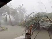 Typhoon Kammuri hits Gloria, in Oriental Mindor