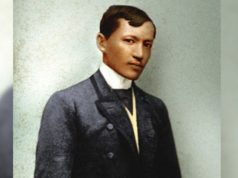 Jose Rizal rendition