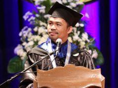 Manny Pacquiao graduation