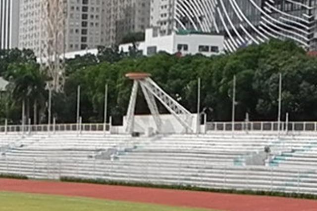 Rizal Memoral Stadium Cauldron