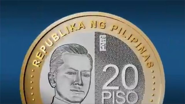 New P20 coin in the Philippines