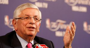 NBA Commissioner Stern holds a news conference before Game 1 of the NBA Finals basketball playoff in Miami