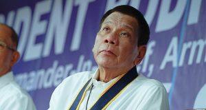 Duterte with Lorenzana