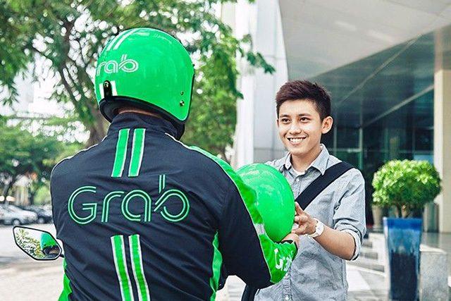 GrabBike rider