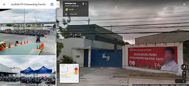 JoyRide headquarters along Marcos highway
