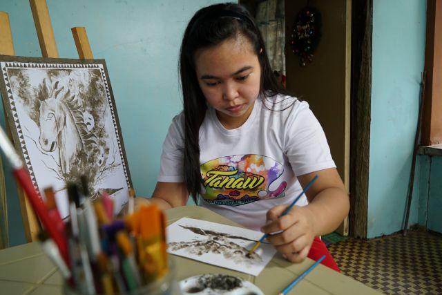 Artist Janina Sanico