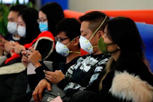 Passengers in Hong Kong