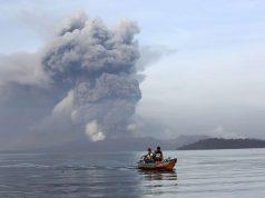 Taal volcano island