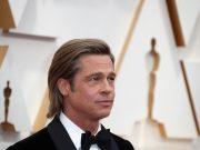 Brad Pitt at the Oscars 2020
