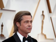 Brad Pitt at the Oscars 2020