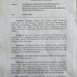 National Commission on Muslim Filipinos, Bureau of External Relations memo
