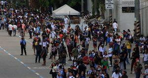 Commuters in Metro Manila