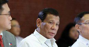 Duterte in COVID-19 press con