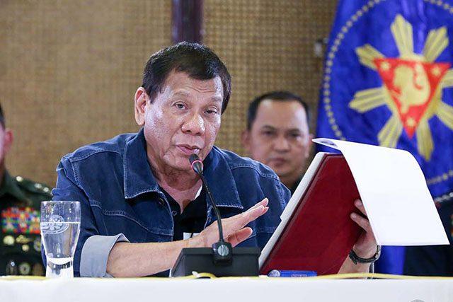 Duterte in March 12 press con