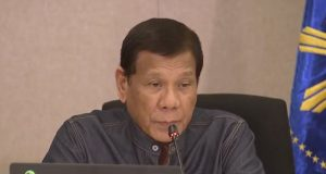 Duterte in March 24 briefing