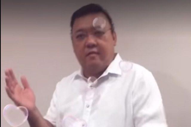 Harry Roque TikTok video