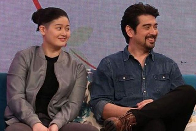 Ian Veneracion with daughter