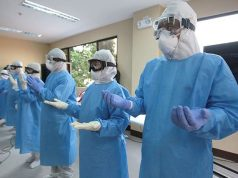 PPE suits in Quezon City
