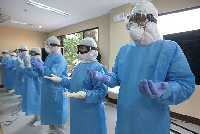 PPE suits in Quezon City