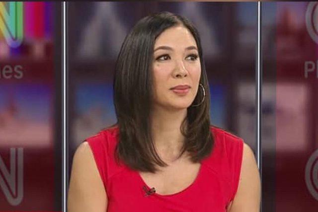 Pinky Webb on CNN